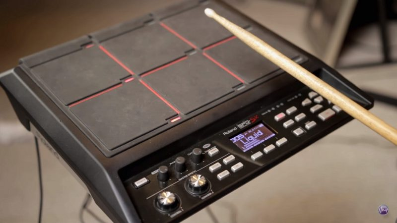 bateria electronica sample pad