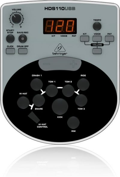 bateria electrica behringer XD8USB