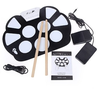ammoon Enrolle Drum Pad opiniones