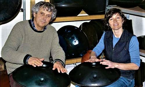 Felix Rohner y Sabina Schärer