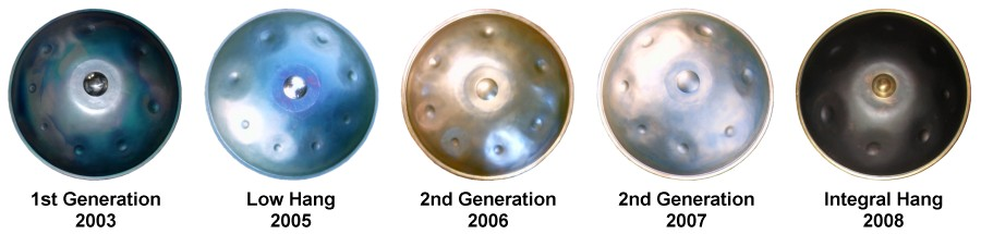 evolucion hang instrumento